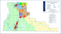 Deschutes County Zoning Map Mini